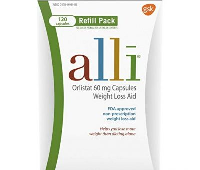 Alli Diet Pills for Weight Loss, Orlistat 60 mg Capsules – How It Works