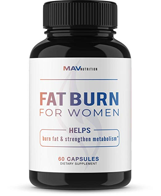 Women's Fat Burner Weight Loss Pills by MAV Nutrition
