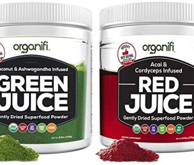 Organifi Green Juice & Red Juice Review – Superfood Supplement Powder