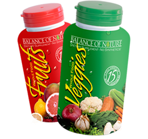 Fruit And Vegetable Supplement